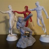 X-O Manowar prototype statue, Solar statues