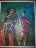 Cover for TPB version of Predator vs Magnus Robot Fighter